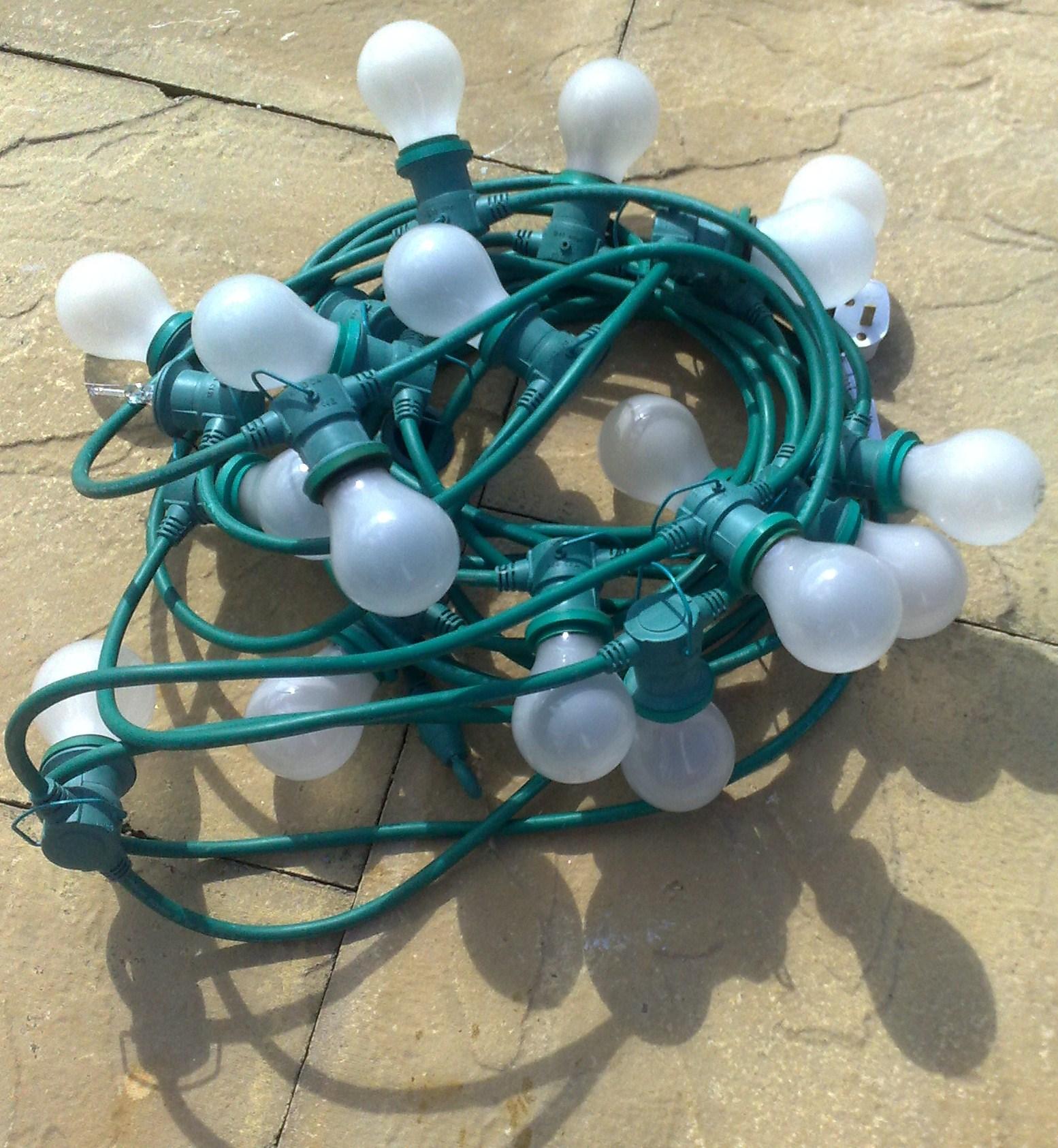 Outdoor Festoon 12 Metre With 40 Lamps